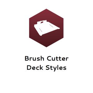 Brush Cutter Deck Styles