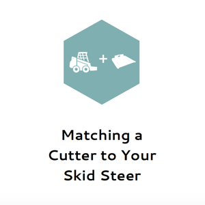 Matching a Cutter to Your Skid Steer
